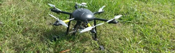 Taking aerial photos